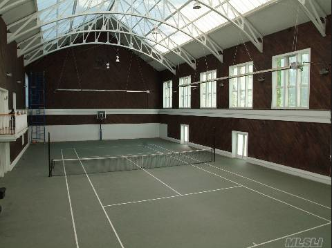 16,000 Square Foot Home In Upper Brookville, NY With Indoor Tennis Court