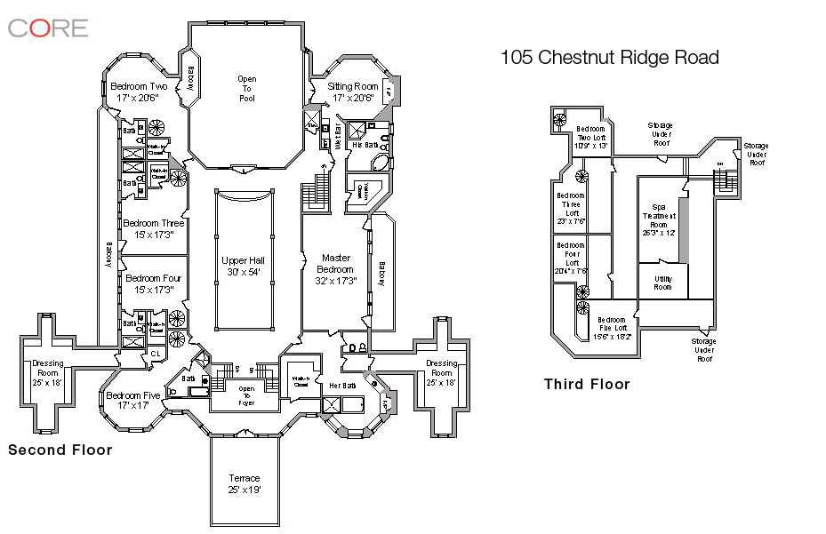 More Pics Of 105 Chestnut Ridge In Saddle River, NJ Along With Floor Plans