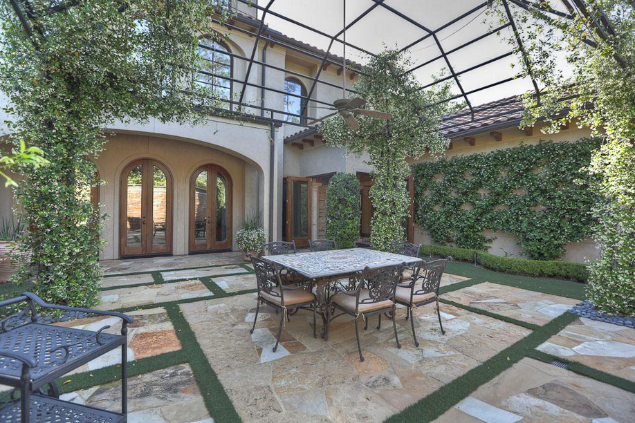 $3.6 Million Mediterranean Mansion In Spring, TX With 2,000 Square Foot Courtyard