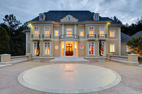 Newly listed 6 7 million european inspired mansion in for Perry motors bishop california