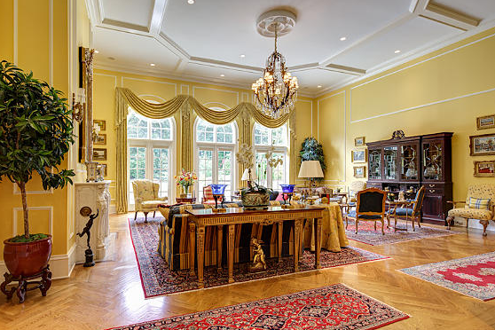 Newly Listed 6 7 Million European Inspired Mansion In