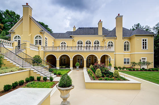 Newly Listed 6 7 Million European Inspired Mansion In Atlanta GA