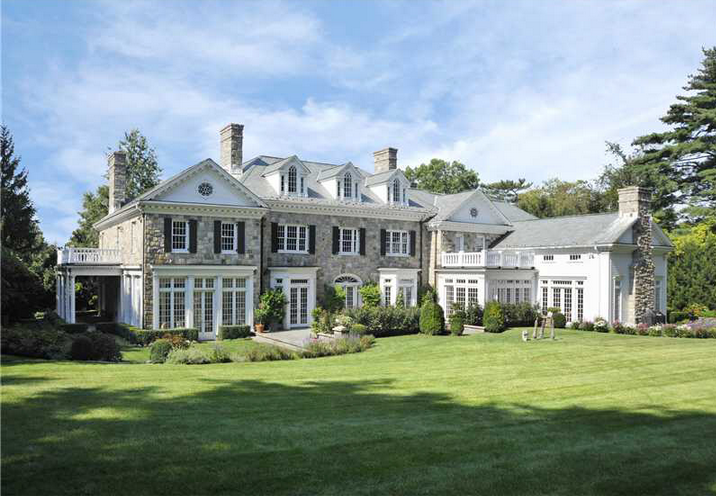 11 95 Million Georgian Colonial In Greenwich Ct Homes