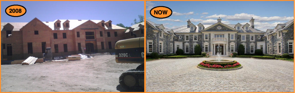 The Stone Mansion BEFORE AFTER Homes Of The Rich The 1 Real