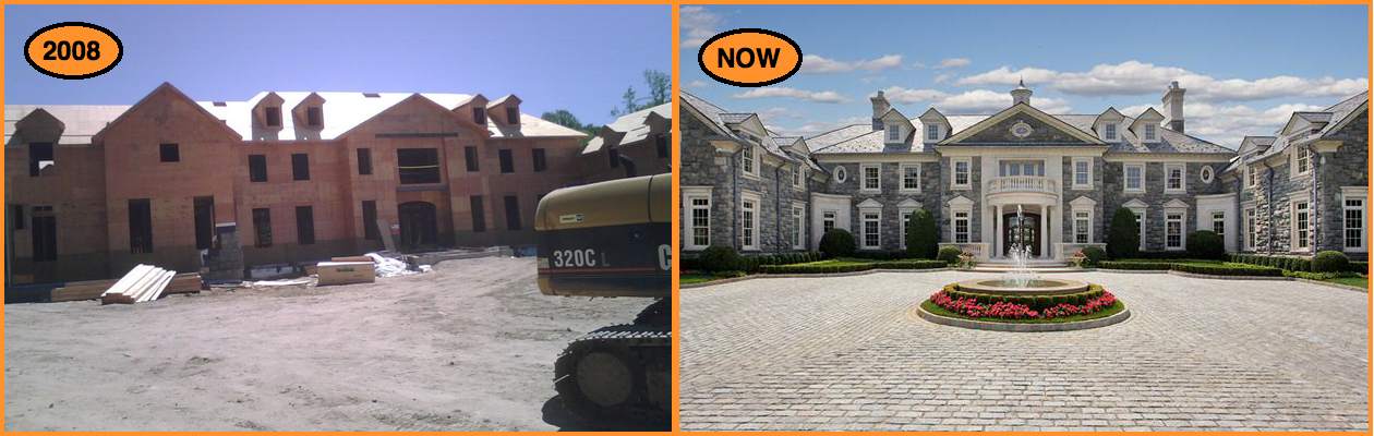 The Stone Mansion BEFORE & AFTER