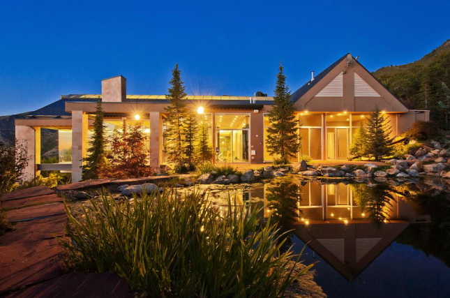 10 000 Square Foot Contemporary Mansion In Salt Lake City