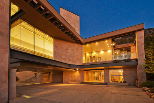 10,000 Square Foot Contemporary Mansion In Salt Lake City, UT