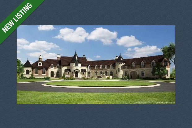 $16.9 Million 25,000 Square Foot Mega Mansion Under Construction In South Barrington, IL