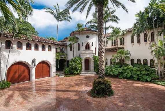 14 5 Million Mediterranean Waterfront Mansion In Miami