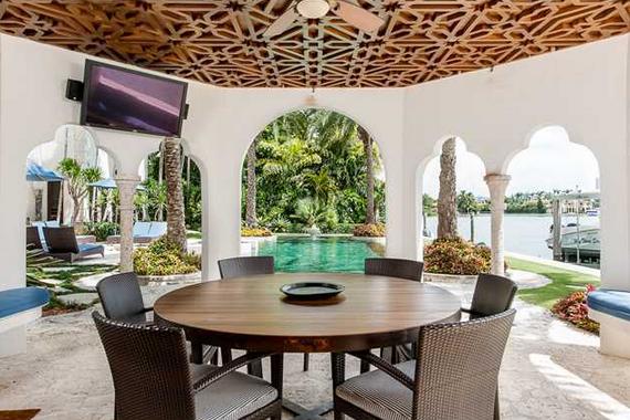$14.5 Million Mediterranean Waterfront Mansion In Miami Beach, FL