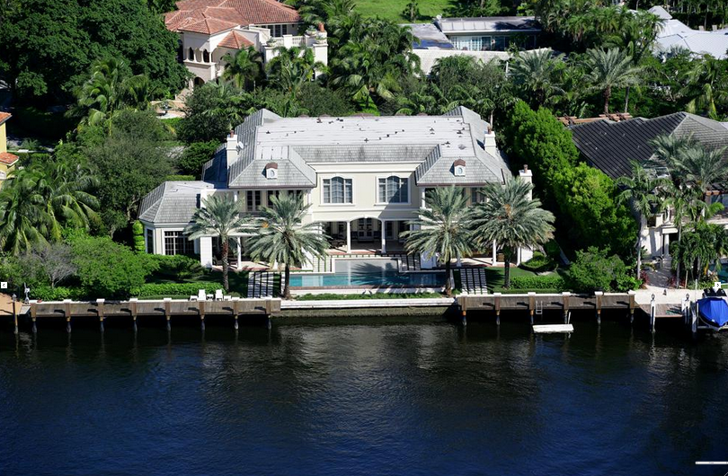 $12 Million Waterfront Mansion In Fort Lauderdale, FL