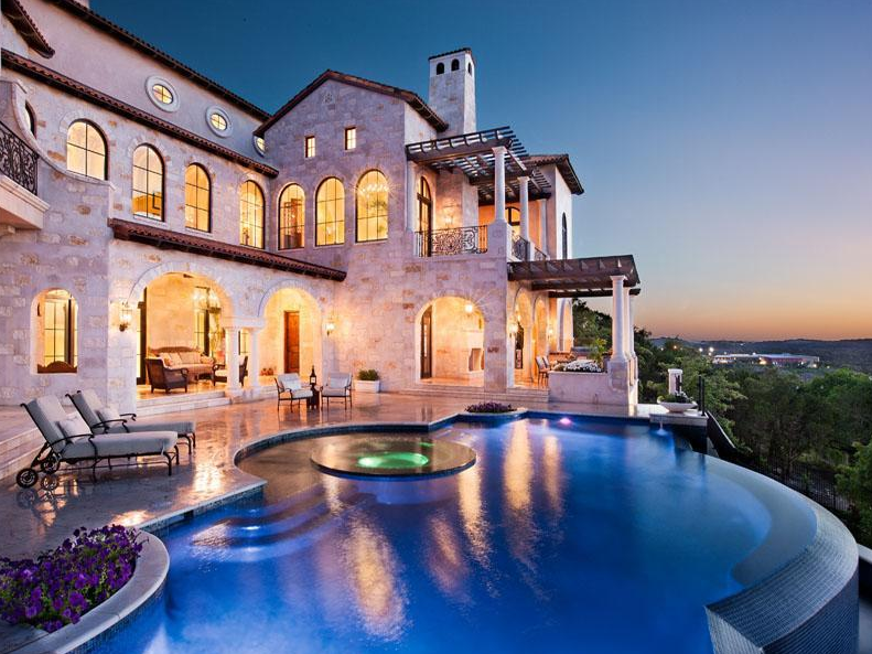 Villa Ascosa – A $6.2 Million Italian Inspired Mansion In Austin, TX
