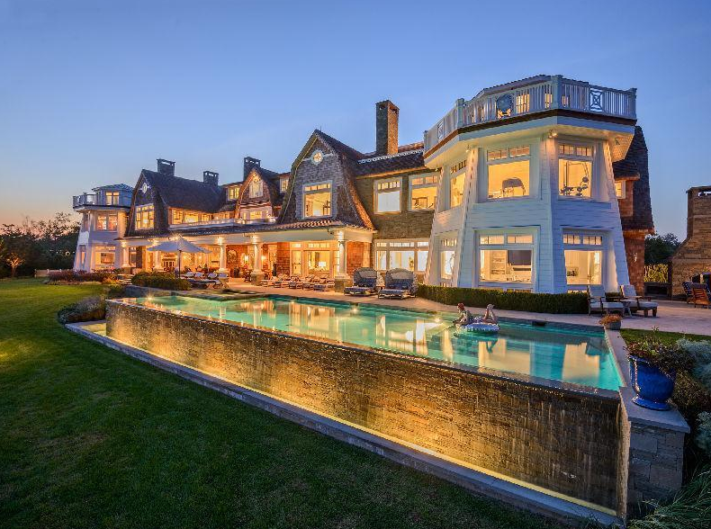 Rose Hill Point – A $40 Million Waterfront Estate In Water Mill, NY