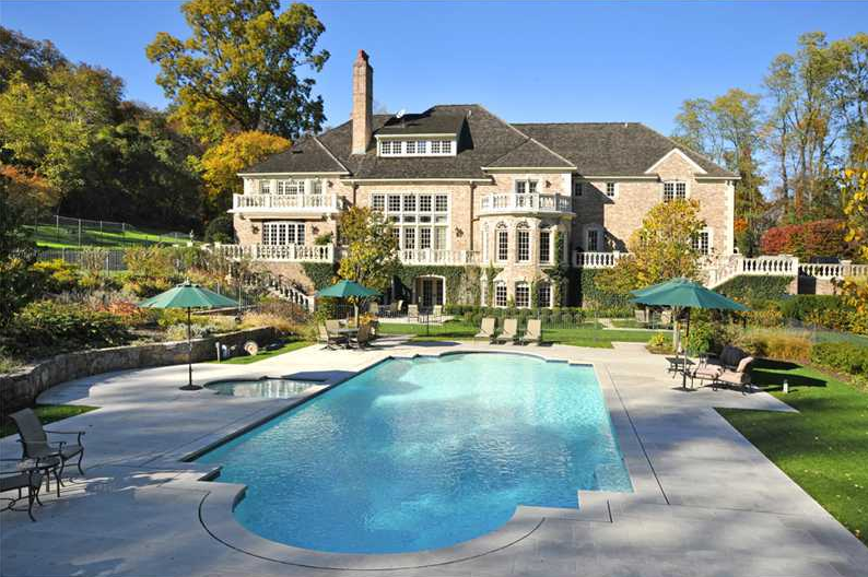 12,000 Square Foot European Inspired Mansion In Greenwich, CT