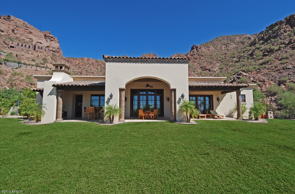 14,000 Square Foot Santa Barbara Style Estate In Phoenix, AZ