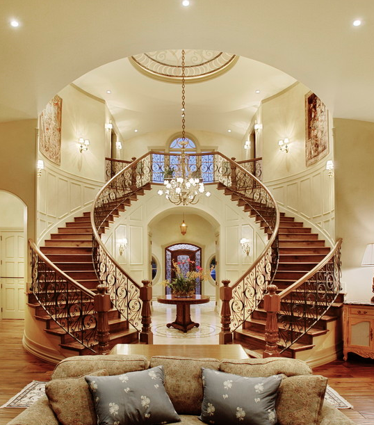 Wonderful A Look At Some Beautiful Staircases