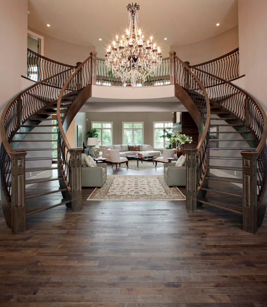 A Look At Some Beautiful Staircases