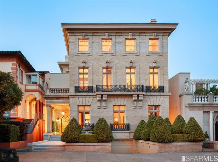 14 9 Million Historic Mansion In San Francisco Ca