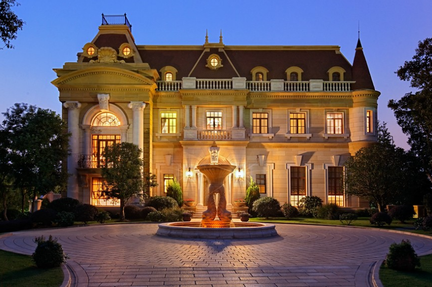 The mansions at sheshan golf club in shanghai china for Beautiful rich houses