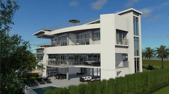 20,000 Square Foot Contemporary Mansion To Be Built In Pompano Beach, FL