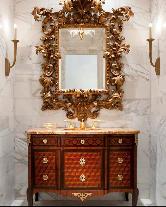Who Said Master Bathrooms Could Be The Only Luxurious In House Gone Are Days Of Plain And Boring Powder Rooms