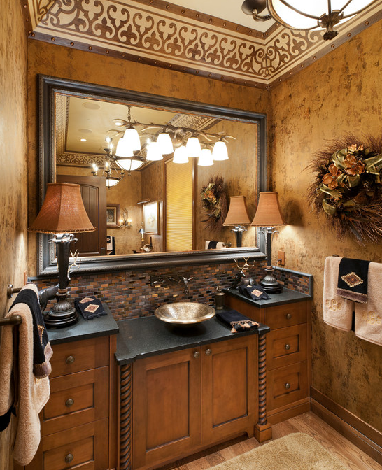 A Look At Some Luxurious Powder Rooms | Homes of the Rich