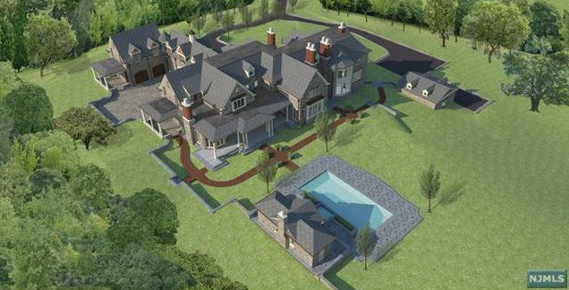 Proposed 18,000 Square Foot European Estate In Saddle River, NJ