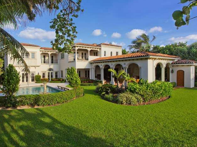 $17.95 Million Mediterranean Oceanfront Mansion In Hillsboro Beach, FL