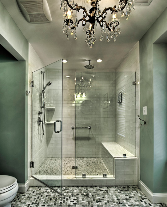 A look at some amazing showers from houzzcom homes of for Houzz com bathroom tile