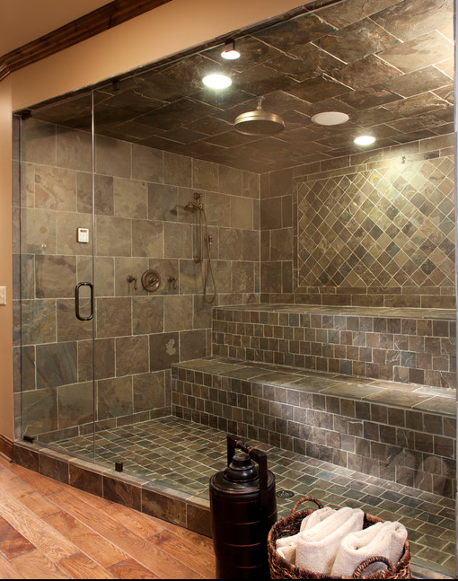 A Look At Some Amazing Showers From Houzz.com | Homes of ...