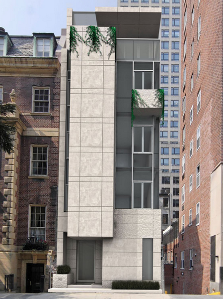 $40 Million Townhouse To Be Built In New York