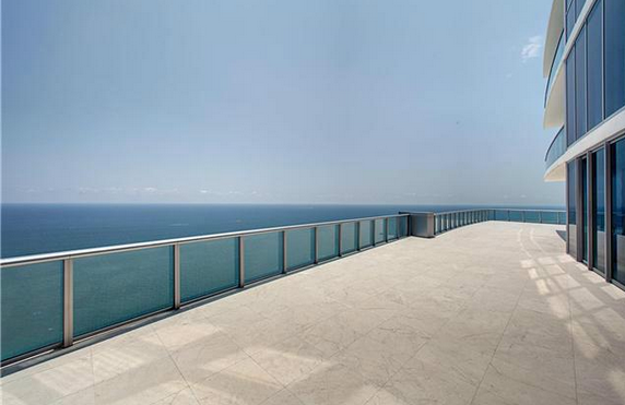 14,000 Square Foot Tri Level Penthouse In Sunny Isles Beach, FL