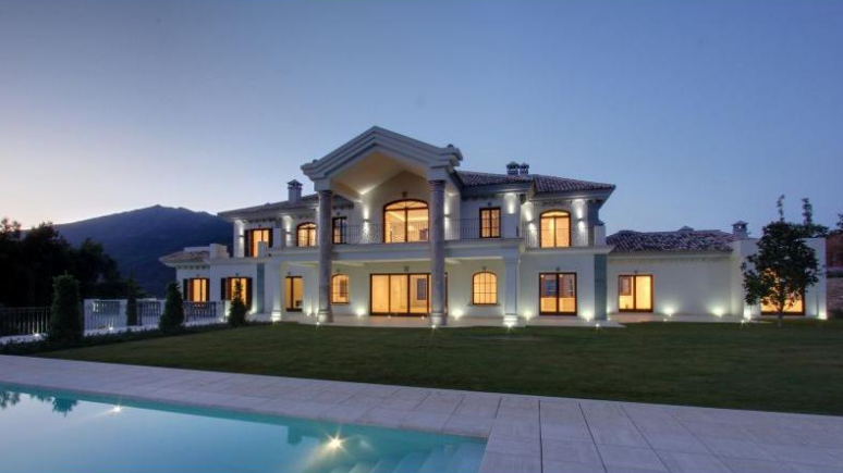 Newly Built 21,500 Square Foot Villa In Spain
