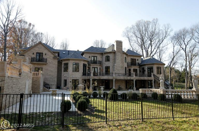 Newly Built 16 500 Square Foot Mansion In Great Falls Va