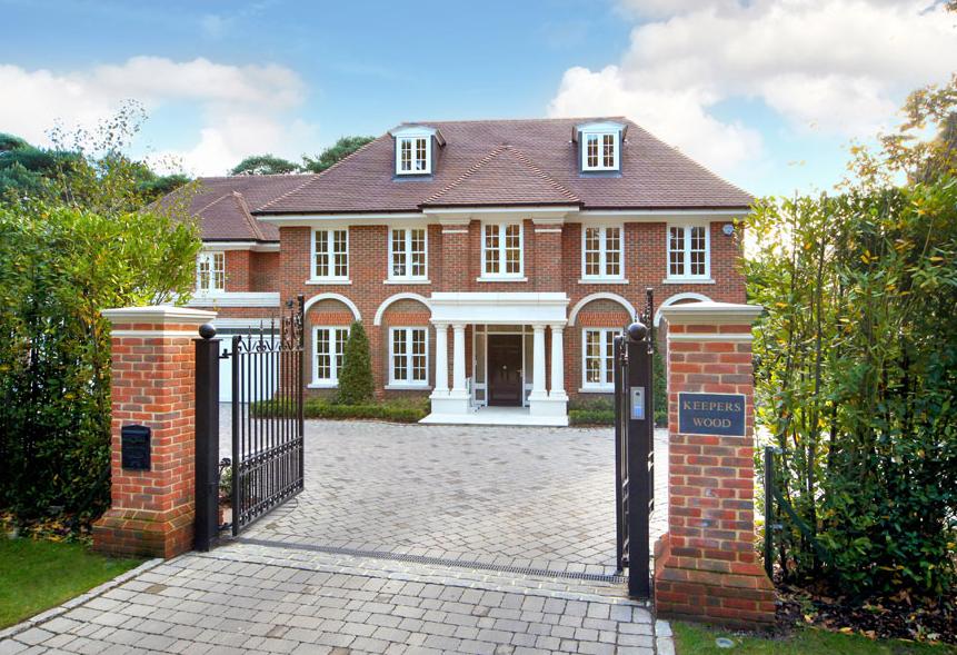 163 4 75 Million Brick Mansion In Surrey England Homes Of