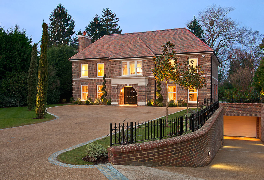 Huge houses with indoor pools