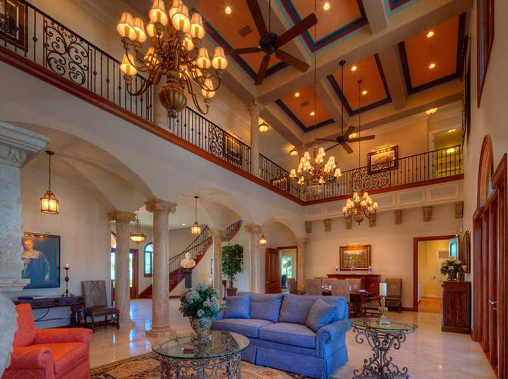 Casa Al Mare A 9 4 Million Waterfront Mansion In Nokomis Fl Homes Of The Rich