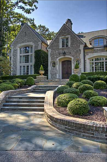 4 7 million gated mansion in atlanta ga homes of the rich for Dream homes in atlanta