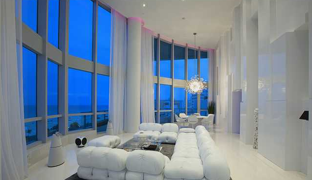 $22 Million Modern Condo In Miami Beach, FL | Homes of the Rich