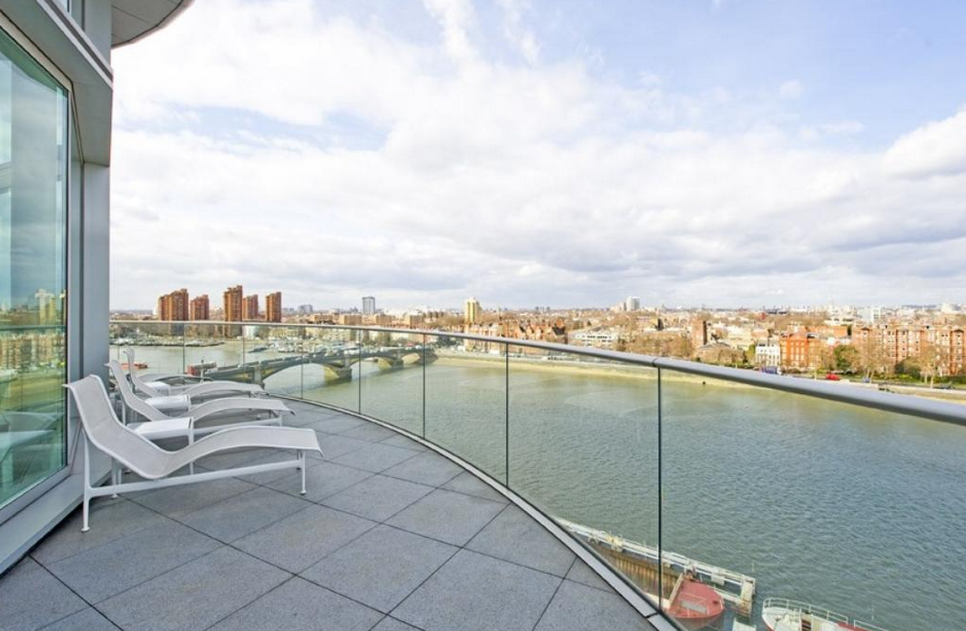 Rent This 6,200 Square Foot Modern London Penthouse For $100,000 A Month