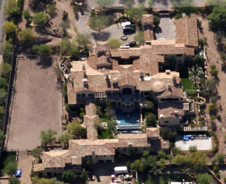 19,500 Square Foot Spanish Style New Build In Paradise Valley, AZ
