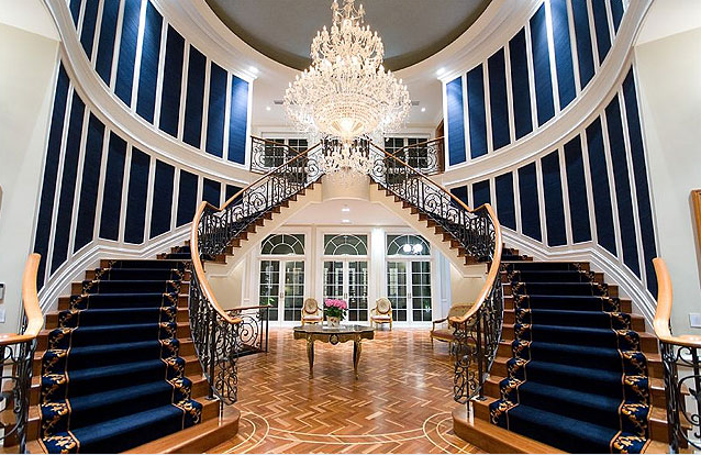 Foyer Staircase Qld : Million riverfront mansion in australia to be