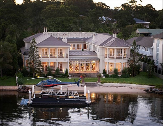 $22 Million Riverfront Mansion In Australia To Be Auctioned Off