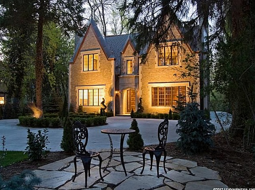 Exceptional English Stone Amp Brick Home In Holladay Ut
