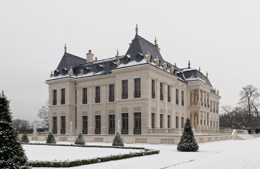 Chateau louis xiv a jaw dropping newly built castle in france homes of the rich