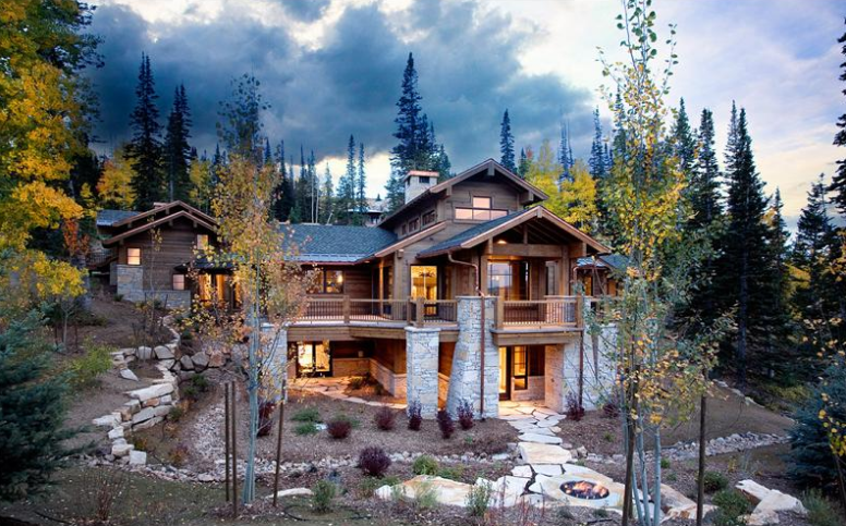 $13.5 Million Ski Home In Deer Valley, Utah's Exclusive Red Cloud Gated Community