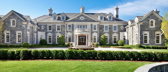 The Stone Mansion Re-Listed For $49 Million