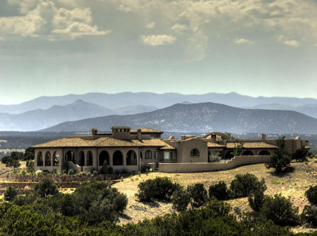 $5.75 Million Tuscan Hacienda New Build In Santa Fe, NM
