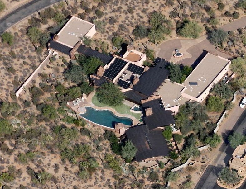 11,500 Square Foot Contemporary Mansion In Scottsdale, AZ