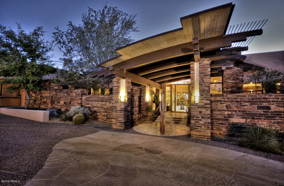 11 500 Square Foot Contemporary Mansion In Scottsdale Az